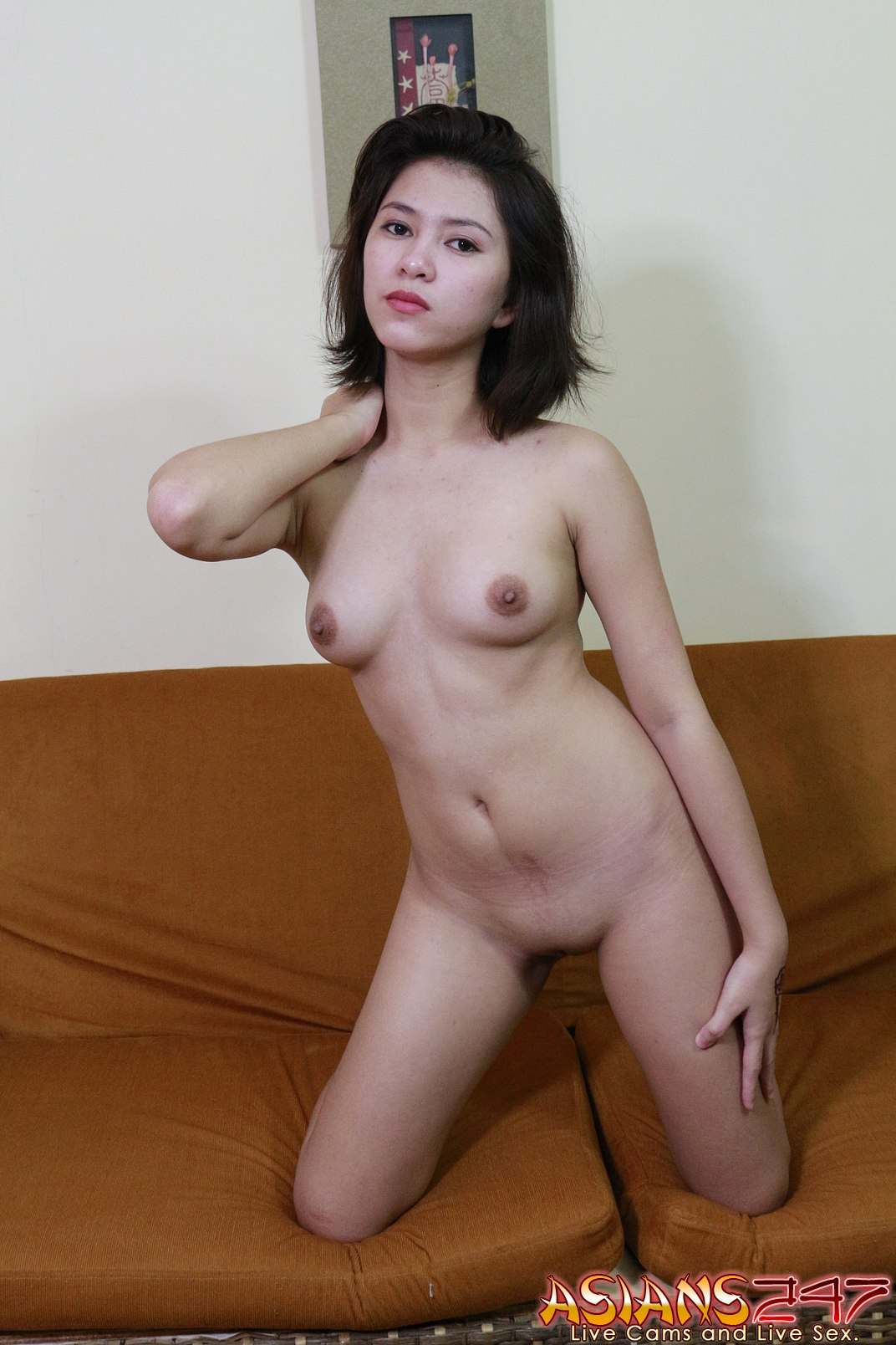 Asians 247 - Sexy Rebecca getting nude for you live